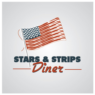 Stars & Strips Diner A Logo, Monogram, or Icon  Draft # 16 by melody1