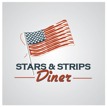 Stars & Strips Diner A Logo, Monogram, or Icon  Draft # 17 by melody1