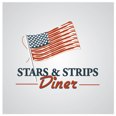 Stars & Strips Diner A Logo, Monogram, or Icon  Draft # 18 by melody1