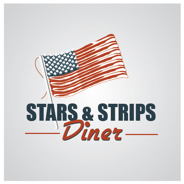 Stars & Strips Diner A Logo, Monogram, or Icon  Draft # 19 by melody1
