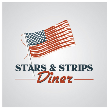 Stars & Strips Diner A Logo, Monogram, or Icon  Draft # 20 by melody1