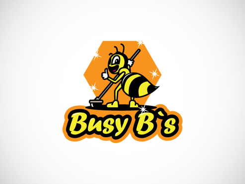 Busy B`s Logo Winning Design by aguadaj