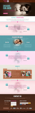 MIRACLE BABY Complete Web Design Solution  Draft # 15 by timefortheweb