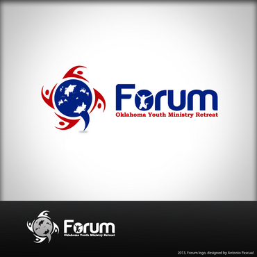 Forum A Logo, Monogram, or Icon  Draft # 33 by AntonioPascual