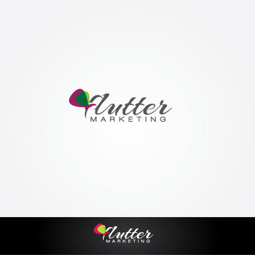 Flutter Marketing A Logo, Monogram, or Icon  Draft # 86 by Logoziner