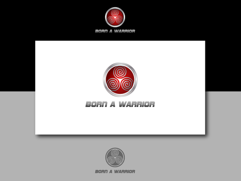 Born a Warrior A Logo, Monogram, or Icon  Draft # 1 by kenjitheslasher