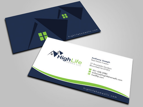 Real Estate Business Business Cards and Stationery  Draft # 9 by Xpert