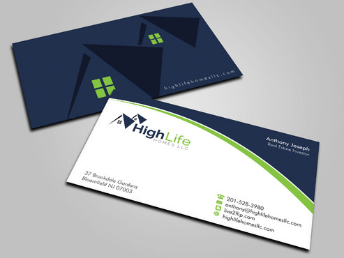 Real Estate Business Business Cards and Stationery  Draft # 12 by Xpert