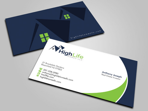 Real Estate Business Business Cards and Stationery  Draft # 14 by Xpert