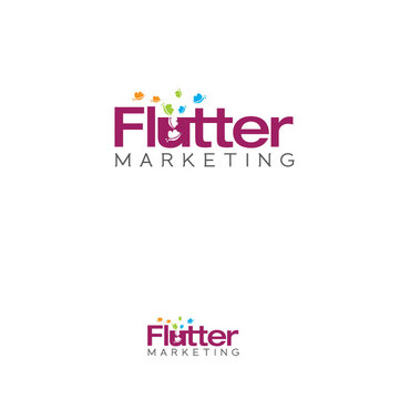 Flutter Marketing A Logo, Monogram, or Icon  Draft # 95 by Logoziner