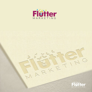 Flutter Marketing A Logo, Monogram, or Icon  Draft # 97 by Logoziner