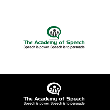 The Academy of Speech A Logo, Monogram, or Icon  Draft # 1 by bbb99
