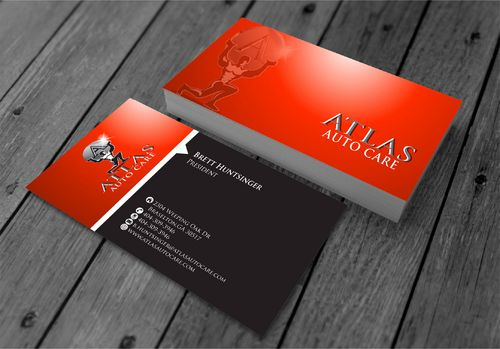 Atlas Auto Care Business Cards and Stationery  Draft # 214 by xtremecreative3