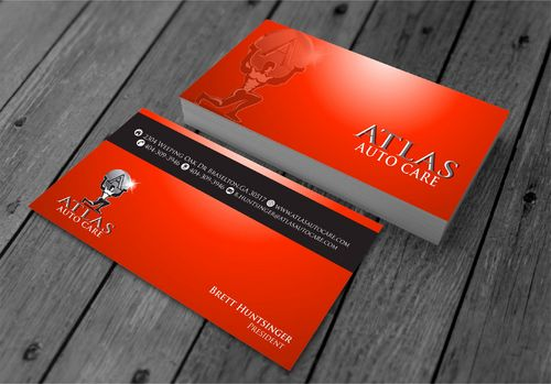 Atlas Auto Care Business Cards and Stationery  Draft # 216 by xtremecreative3