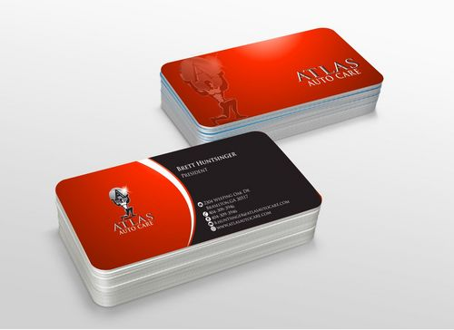 Atlas Auto Care Business Cards and Stationery  Draft # 219 by xtremecreative3