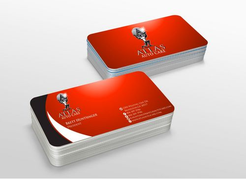 Atlas Auto Care Business Cards and Stationery  Draft # 220 by xtremecreative3