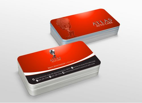 Atlas Auto Care Business Cards and Stationery  Draft # 222 by xtremecreative3