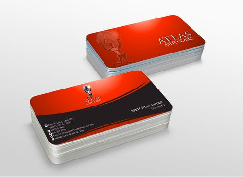 Atlas Auto Care Business Cards and Stationery  Draft # 225 by xtremecreative3