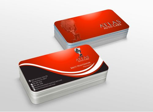 Atlas Auto Care Business Cards and Stationery  Draft # 226 by xtremecreative3