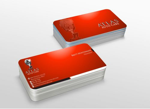 Atlas Auto Care Business Cards and Stationery  Draft # 228 by xtremecreative3