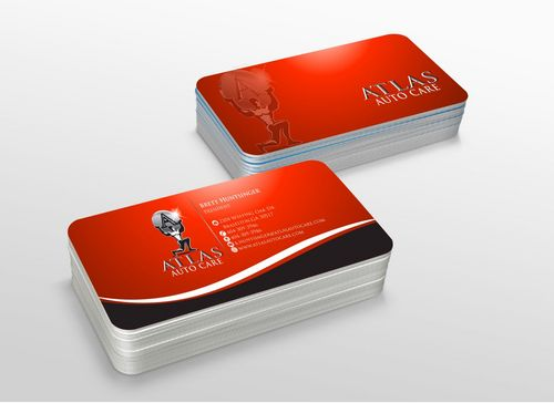 Atlas Auto Care Business Cards and Stationery  Draft # 233 by xtremecreative3