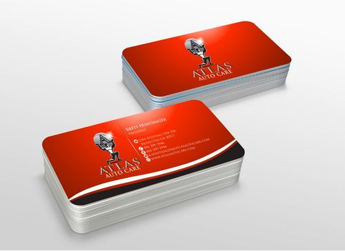 Atlas Auto Care Business Cards and Stationery  Draft # 232 by xtremecreative3