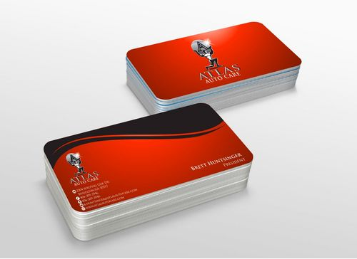Atlas Auto Care Business Cards and Stationery  Draft # 234 by xtremecreative3