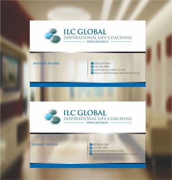 ILC Global Ltd Business Cards and Stationery  Draft # 274 by xtremecreative3