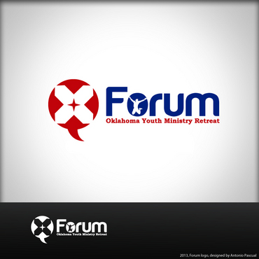 Forum A Logo, Monogram, or Icon  Draft # 46 by AntonioPascual
