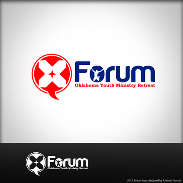 Forum A Logo, Monogram, or Icon  Draft # 48 by AntonioPascual