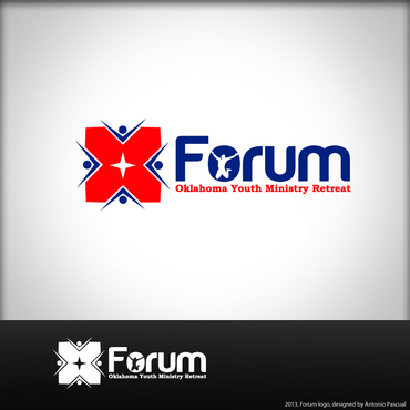 Forum A Logo, Monogram, or Icon  Draft # 49 by AntonioPascual