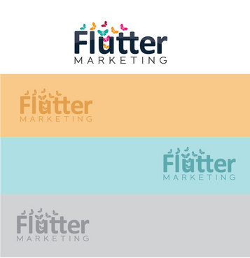 Flutter Marketing A Logo, Monogram, or Icon  Draft # 105 by Logoziner