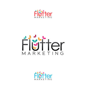 Flutter Marketing A Logo, Monogram, or Icon  Draft # 106 by Logoziner
