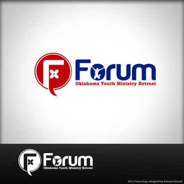 Forum A Logo, Monogram, or Icon  Draft # 54 by AntonioPascual