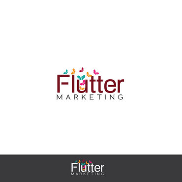 Flutter Marketing A Logo, Monogram, or Icon  Draft # 108 by Logoziner