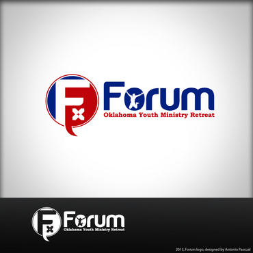 Forum A Logo, Monogram, or Icon  Draft # 55 by AntonioPascual