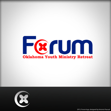 Forum A Logo, Monogram, or Icon  Draft # 56 by AntonioPascual