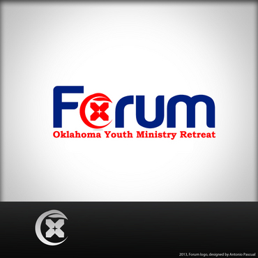 Forum A Logo, Monogram, or Icon  Draft # 58 by AntonioPascual