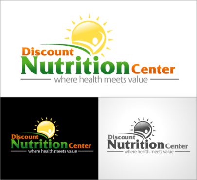 Discount Nutrition Center A Logo, Monogram, or Icon  Draft # 139 by Debendra
