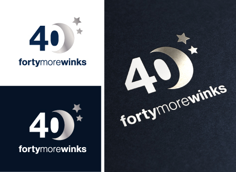 40 More Winks (also Forty More Winks) A Logo, Monogram, or Icon  Draft # 40 by Mayas