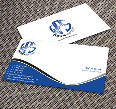 WPS Mortgage Business Cards and Stationery  Draft # 234 by jpgart92