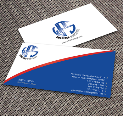 WPS Mortgage Business Cards and Stationery  Draft # 235 by jpgart92