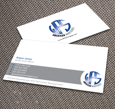 WPS Mortgage Business Cards and Stationery  Draft # 236 by jpgart92