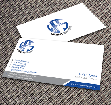 WPS Mortgage Business Cards and Stationery  Draft # 238 by jpgart92
