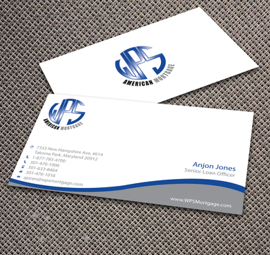WPS Mortgage Business Cards and Stationery  Draft # 239 by jpgart92