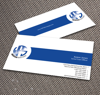 WPS Mortgage Business Cards and Stationery  Draft # 240 by jpgart92