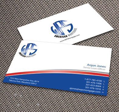 WPS Mortgage Business Cards and Stationery  Draft # 241 by jpgart92
