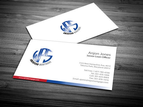 WPS Mortgage Business Cards and Stationery  Draft # 242 by jpgart92