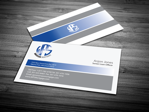WPS Mortgage Business Cards and Stationery  Draft # 243 by jpgart92