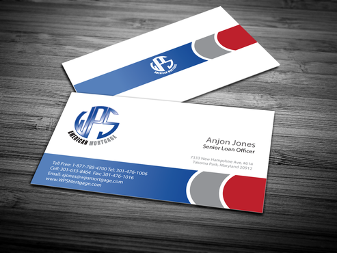 WPS Mortgage Business Cards and Stationery  Draft # 245 by jpgart92